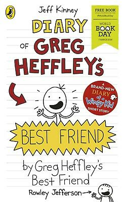 Diary of Greg Heffley's Best Friend By Jeff Kinney Diary of a Wimpy Kid PB NEW