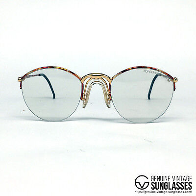 "NOS Porsche Design by Carrera 5670 ""Dark Havana"" Austria 80's Small"