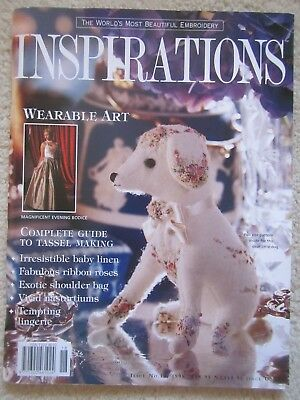 Inspirations Magazine Issue 18 - 1998 The Worlds Most Beautiful Embroidery