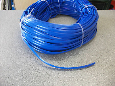 Caravan/Motorhome Pvc Awning Rail Infill Strip 12Mm X 50M  - Blue