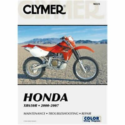 Clymer Dirt Bike Manual - Honda XR650R - HON XR 650R 2000 - 2007