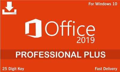 Office 2019   Professional Plus Version   Genuine Key   Activation Guaranteed