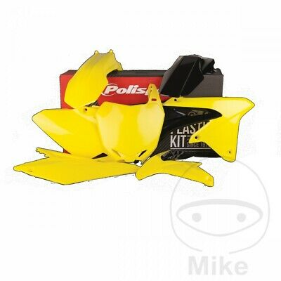 Polisport Complete Panel / Plastics Kit Yellow/Black Suzuki RM-Z 450 2017