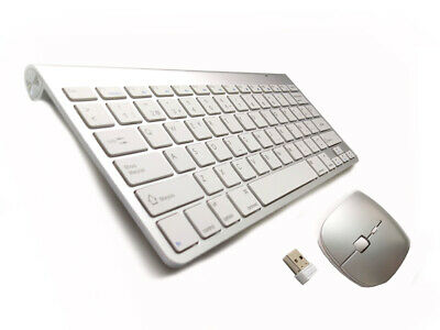 Combo Teclado + Raton Wireless Inalambrico 2.4G Interfaz Usb Con Letra Ñ Pc Mac