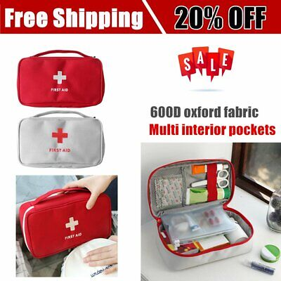Portable Medicine Bag Multi-Layer First Aid Kit Outdoor Travel Rescue Bag @61