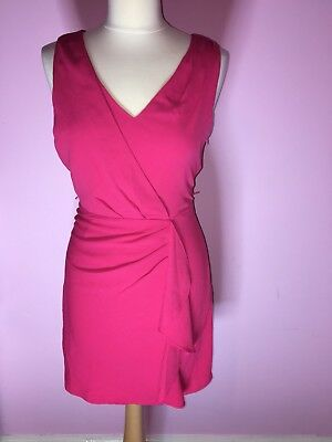 758864c3465b OASIS - PINK Drape Style Party Dress - Good Condition - £5.99 ...