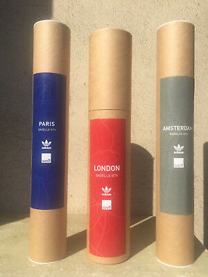 3 ADIDAS GTX GAZELLE POSTERS 80s casuals trainers