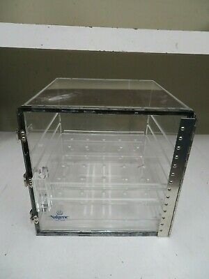 "Nalgene 11"" x 10.5"" x 11""- Desiccator Cabinet - no dessicant included - NI30"