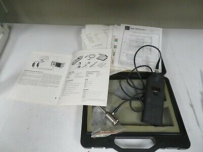 SPM VIBRAMETER VIB-10 w/ Case, Transducer, and manuals - NI35
