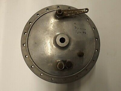 Norton Commando 1957-73 front wheel hub and brake plate