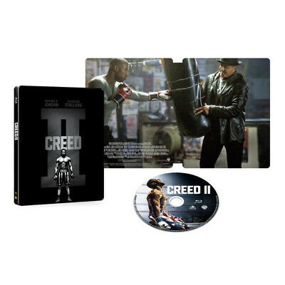 CREED II 2 Blu-ray Steel Book Specification disc Rocky IV limited edition japan