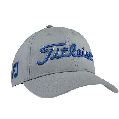 timeless design 227f9 23d90 Titleist Men s Tour Performance Adjustable Hat Grey Harbor Blue