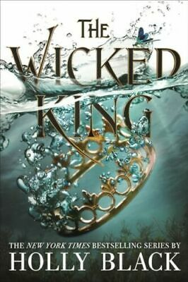 The Wicked King The Folk of the Air #2 Holly Black - Rare SIGNED Edition