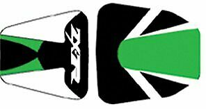 Bagster Seat Cover Green/Black/White/White Letters Kawasaki ZX7R 1996-2002