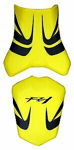 Bagster Seat Cover Surf Yellow/Black/Black Letters Yamaha FZ1 Inc ABS 2006-2011