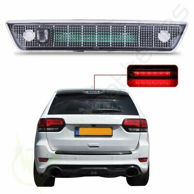 Clear Housing LED 3RD Third Brake Tail Light for 2005-2010 Jeep Grand Cherokee
