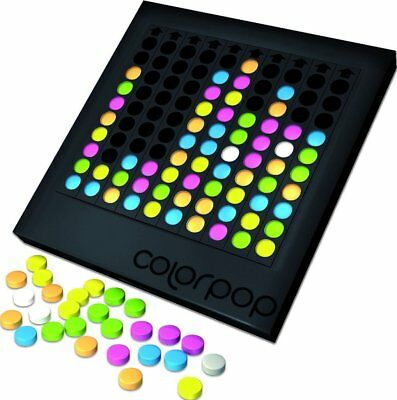 Colorpop Board Game Family Strategy Fun Adults Kids Counters 1 to 5 Players Gift