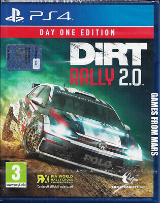 Dirt Rally 2.0 Day One Edition Ps4 Nuovo Italiano
