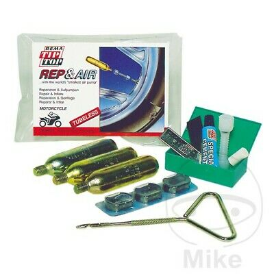 Tip Top Rep & Air Tubeless Puncture Repair Kit