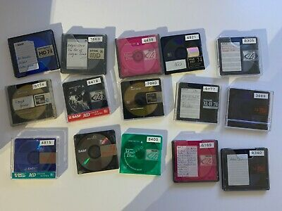 MiniDisc - Lot 50 pieces