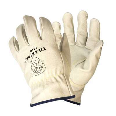 Tillman 1410 Extremely Durable Top Grain Pigskin Drivers Gloves, Small