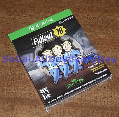 Fallout 76 EXCLUSIVE Edition with SteelBook & Controller Skin!! (Xbox 1 One) xb1