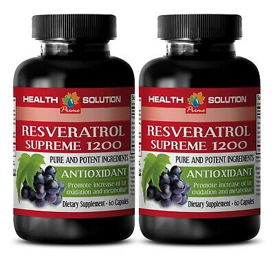weight loss pills - RESVERATROL SUPREME 1200mg - multivitamin capsules 2B