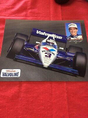 1988 Valvoline Al Unser Jr Galles Racing March Chevy Indy Car Hero Card