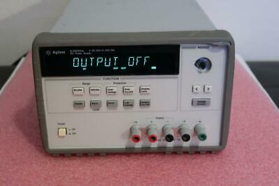 Agilent E3633A 0-8V/20A or 20V/10A DC Power Supply w/ HP-IB and RS232 Interfaces