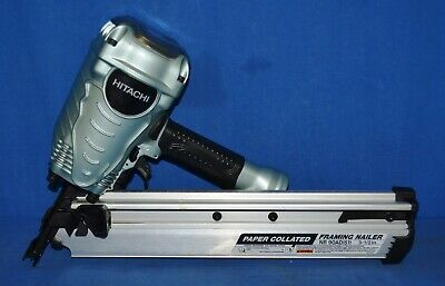 """Hitachi NR90ADS1 2 to 3-1/2"""" Pneumatic Paper Collated Framing Nailer"""