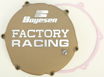 Boyesen Factory Racing Magnesium Clutch Cover - CC-12M Replacement 0940-0229