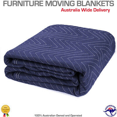 Heavy Duty Furniture Protection Moving Blanket Quilted Removalist Pad 1.8 X 3.4m