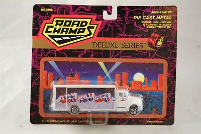 Road Champs Deluxe Series Diet Pepsi Delivery Tuck 1993 Die Cast Metal