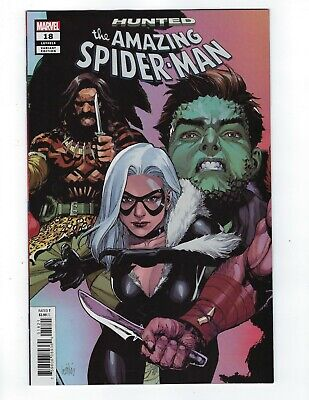 Amazing Spider-Man Vol 5 # 18 Yu Variant Connecting Cover NM Ships Mar 27th