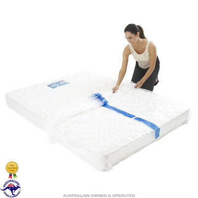 Plastic Mattress Protector Moving Cover Bed Protection Storage Bags Express Post