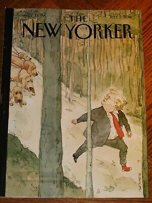 The New Yorker Sept. 3, 2018 TRUMP