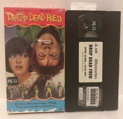 VHS Drop Dead Fred Phoebe Cates, RIK Mayall  Out of Print OOP RARE