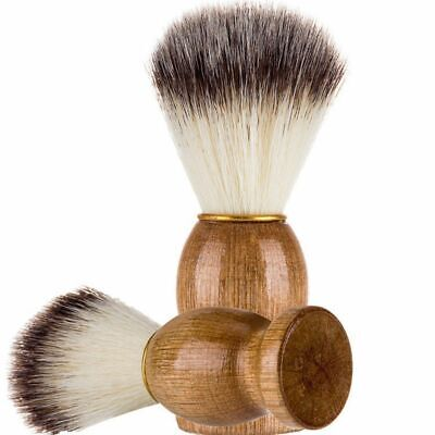 Tool Wood Handle Mustache Facial Beard Cleaning Men's Shaving Brush Badger Hair