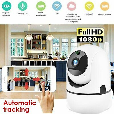 WiFi 1080P Home Security Baby Monitor IP Camera Auto Track Wireless Indoor Cam