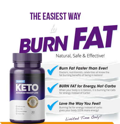 PUREFIT KETO ADVANCED WEIGHT LOSS (60 Capsules)