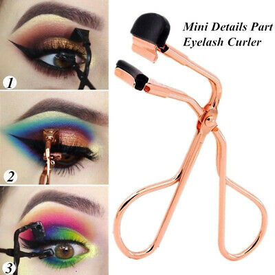 Mini Eyelash Curler Portable Stainless Steel Curling Eyelashes Auxiliary Tools