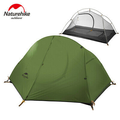 Outdoor Ultra-light Double-layer Single Tent Camping Riding Wild Waterproof Dome
