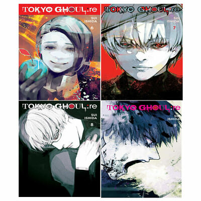 Tokyo Ghoul Series re,Vol. 6-9 Collection Sui Ishida 4 Books set ,Anime & Manga