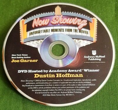 Now Showing Unforgettable Moments from the Movies Replacement DVD (disc only)