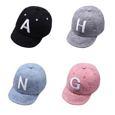 AU Toddler Kid Baby Boy Girls Baseball Cap Unisex Embroidery Cotton Snapback Hat