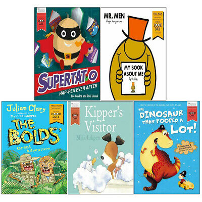 Kipper's Visitor,Supertato Hap Pea Ever After,Oi Goat 7 Books Collection Set NEW