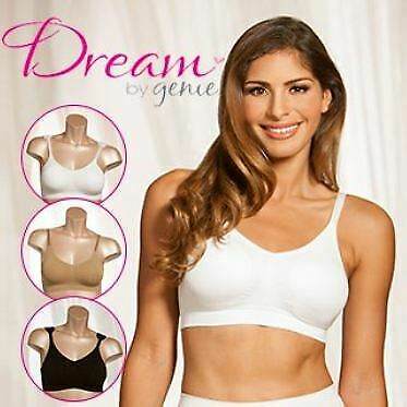 Dream By Genie Bra All Sizes  3 PCS Pack