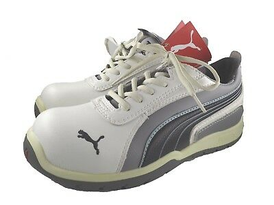 PUMA Safety Shoes S3 HRO SRC Monaco Low, Unisex Adult Size 5 / 38 NEW