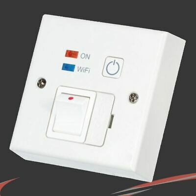 """White """"Wi-Fi"""" Controlled, Switched Fused Spur (Phone App Control)"""