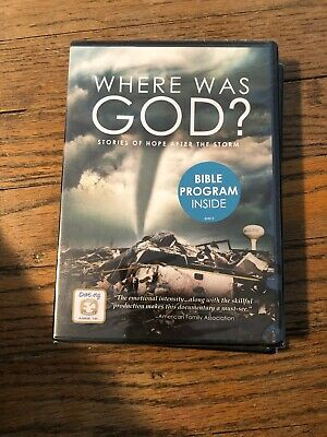 WHERE WAS GOD  Brand New Factory Sealed DVD  Fast Shipping Christian